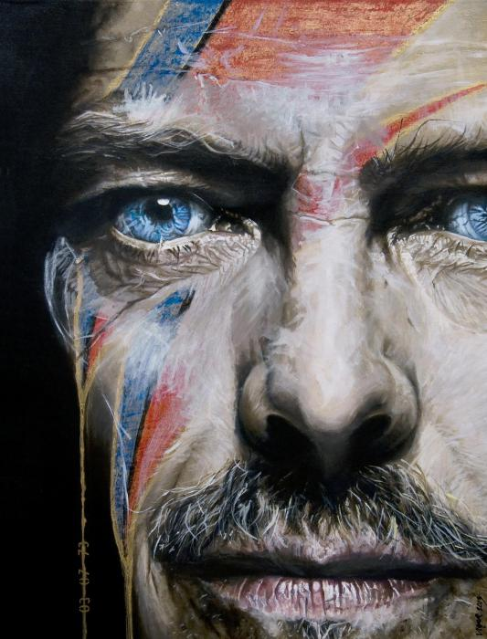 David Bowie por DavidVigor